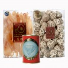 New Zealand Dried Fish Maw - 1200g (50-70pcs), comes with Mushroom and Canned Abalone